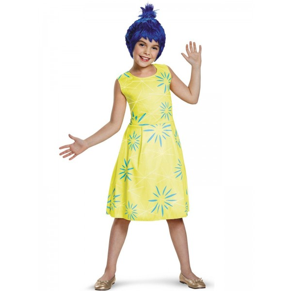 Costum disney inside-out joy clasic