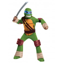 Costum testoasele ninja-leonardo copil - marimea 128 cm