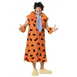 Costum the flinstones-fred flinstone deluxe adult - marimea 158 cm