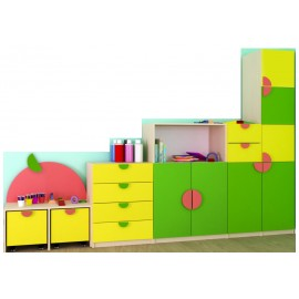 Set mobilier gradinita Fructele