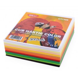 Cub Hartie Color 9x9 Cm imagine