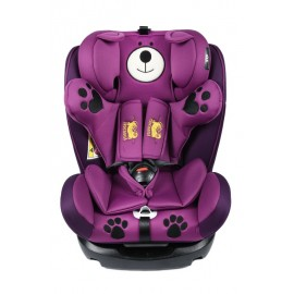 Scaun auto Mos Martin cu Isofix Purple Crocodile