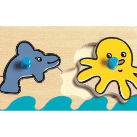 Puzzle cu buton Oceanul
