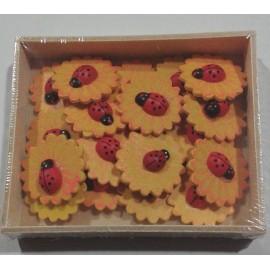 Cutie Floare cu Gargarita - 20 buc autoadezive