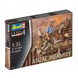 Anzac infantry 1915 revell rv2618