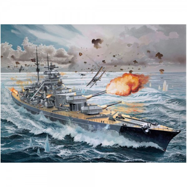 Battleship bismarck platinum edition ltd.edition revell rv5144