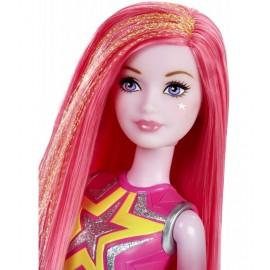 Papusa Barbie Roz - Star Light Adventure