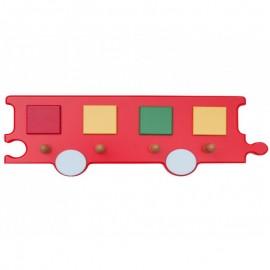 Cuier Vagon rosu - Novum