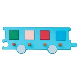 Cuier Vagon albastru - Novum