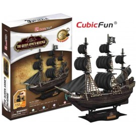 The Queen Anne's Revenge Puzzle 3d 155 piese