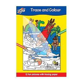Galt - Carte de desenat si colorat cu modele