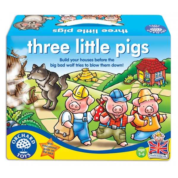 Joc de societate Cei trei purcelusi THREE LITTLE PIGS