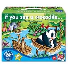 Joc de societate Fereste-te de crocodili IF YOU SEE A CROCODILE