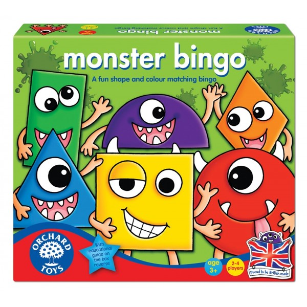 Joc educativ bingo Monstruletii MONSTER BINGO
