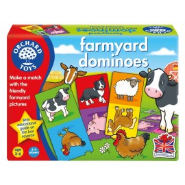 Joc educativ domino Ferma FARMYARD DOMINOES