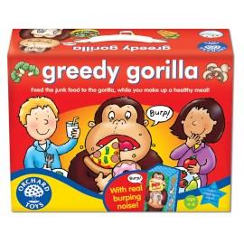 Joc educativ in limba engleza Maimutica lacoma GREEDY GORILLA