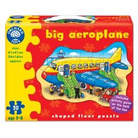 Puzzle De Podea Avion (30 Piese) Big Aeroplane imagine