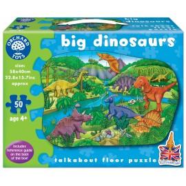Puzzle De Podea Dinozauri (50 Piese) Big Dinosaurs imagine