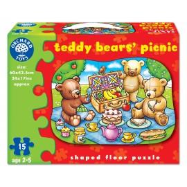 Puzzle de podea picnicul ursuletilor (15 piese) TEDDY BEARS PICNIC