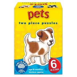 Set 6 Puzzle Animale De Companie (2 Piese) Pets imagine