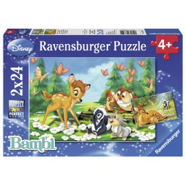Puzzle bambi 2x24 piese