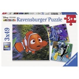 Puzzle in cautarea lui nemo 3x49 piese