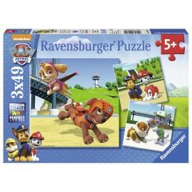 Puzzle patrula catelusilor 3x49 piese