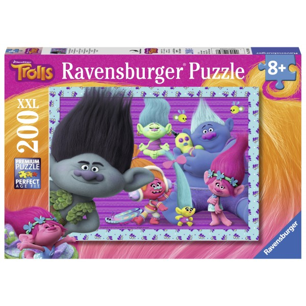 Puzzle trolls 200 piese