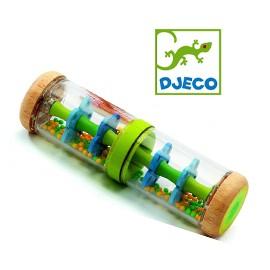 Jucărie bebe Djeco Ploaie colorată-Verde