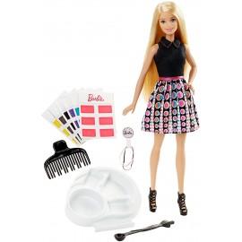 Papusa Barbie cu par fantastic