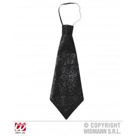 Cravata lurex neagra