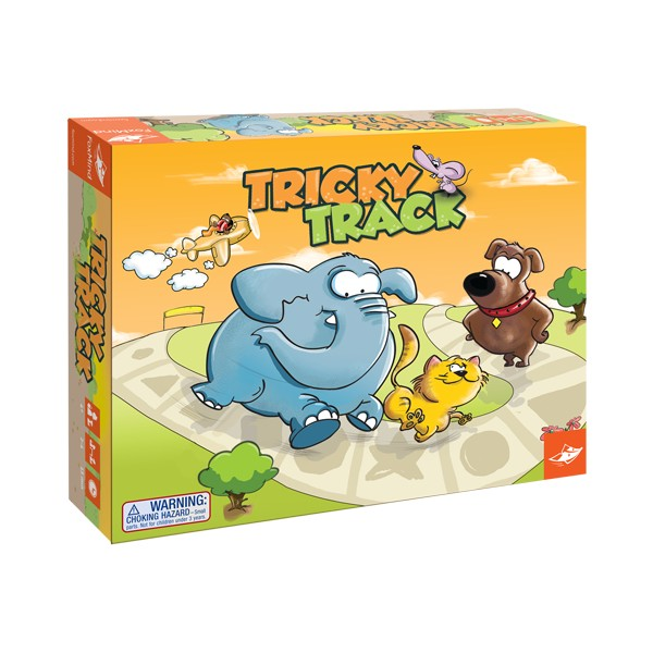 TRICKY TRACK - Joc de strategie