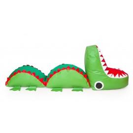 Puf mare cap Crocodil - Novum