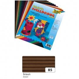 Carton ondulat 50x70 cm maro - coala