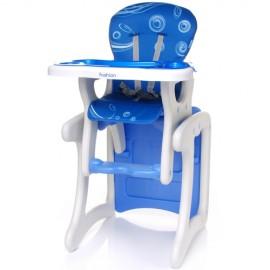 Scaun de masa 2 in 1 albastru