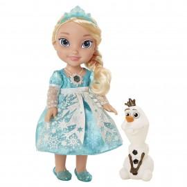 Papusa Elsa Snow Glow Disney Frozen 36cm