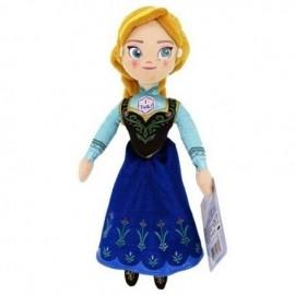 Papusa Vorbareata Din Plus Anna Disney Frozen imagine