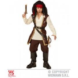 Costum pirat din caraibe - marimea 128 cm