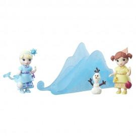 Set mini figurine papusi Frozen cu accesorii