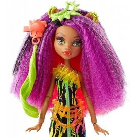 Papusa Clawdeen Wolf - Monster High Electrified