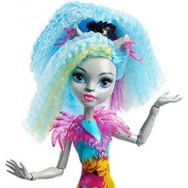 Papusa Silvi Timberwolf - Monster High Electrified