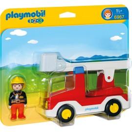 123 Camion Cu Pompier imagine