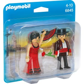 Set 2 figurine - dansatori flamenco