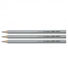 Creion color metalizat Argintiu FATIH