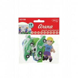 Arena - Set 12 forme spuma 3D autoadeziva