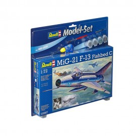 Model set avion revell mig 21 f13 fishbed rv63967