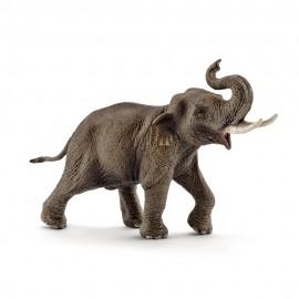 Figurina schleich mascul elefant asiatic 14754