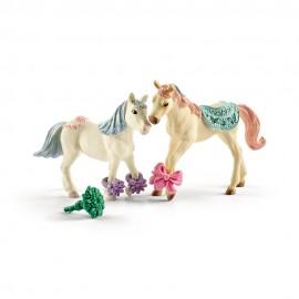 Figurine schleich companion star cu hrana pentru animale 41452