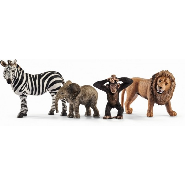 Set schleich animale salbatice set de incepatori sl42387