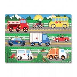 Puzzle Din Lemn Vehicule Cunoscute imagine